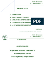 1 - Redes Sociais - 2016-2