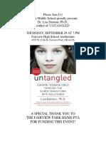 Untangled -- September 29 Event