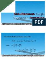 08 1st SEISINV Course2015 Simultaneous Inversion