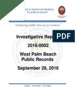 OIG West Palm Beach Report