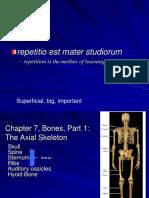 ANATOMI - Chapter7AxialSkeletonMarieb