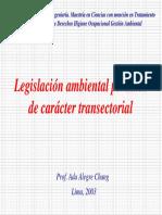 Legislación Transectorial