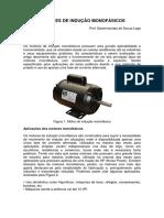 Motores de Indução Monofásicos