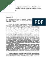Angell - La Izquierda en America Latina Desde 1920