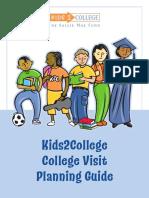 k2c College Visit Guide