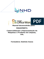 Manual Do Formando Word
