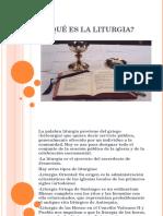 Qué Es La Liturguia I