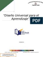 Apuntes Diseño Universal Para El Aprendizaje.