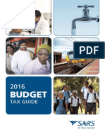 2016 Budget Tax Rates Guide