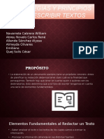 Estrategias y Principios Para Escribir Textos