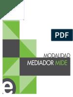 Modalidad Mediador Mide
