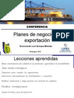 Planes de negocio de exportacion.ppt