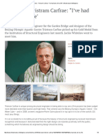 """Interview - Tristram Carfrae_ """"I'Ve Had Luck All My Life_ _ Infrastructure Intelligence"""