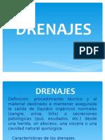 DRENAJES