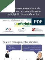 Adaptarea Modelului Clasic de Managementul Riscului