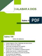 Salmo 100 Cómo Alabar a Dios