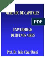 introduccion al Mercado de Capitales UBA