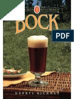 Classic Beer Style Series #09 - Bock; By Darryl Richman (1994)