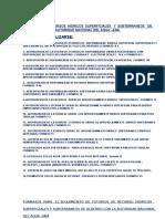 Estudios de Recurso Hidricos Superficiales y Subterraneos.