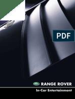 Range Rover L322 MY02 - In-Car Entertainment Handbook (LRL0455ENG)