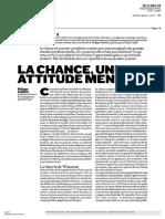 CourrierCadres Déc.2005 Chance Attitude Mentale