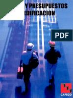 79520737 Costos y Presupuestos en Edificacion CAPECO LIBRO
