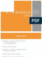 Training Day Presentation