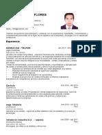 Cv Petter Edisson Flores Morales