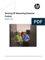 Servicing HP Enterprise Networking