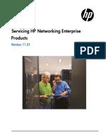 Servicing HP Enterprise Networking