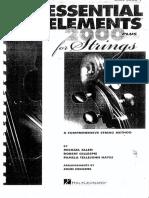 Essential Elements 2000 Violin