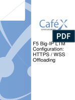 F5 Configuration - HTTPS WSS Offloading
