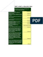 Excel Para Calcular Beneficio Neto