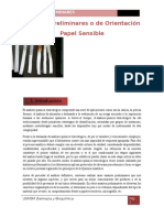 PAPELES SENSIBLES-TOXICOLOGIA