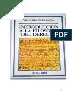 Introduccion a La Ffia Del Dcho Peces Barba