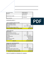 Guia Noco¡¡.2 Costos y Punto de Equilibrio Desarrollo de Ejercicios
