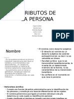 Atributos de La Persona