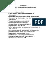 Capitulo1 Sistemas de Informacion