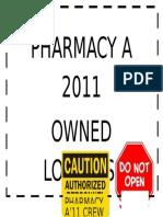 Pharmacy a 2011