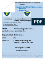 farmacologia gastrica