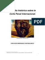 Exordio Histórico Sobre La Corte Penal Internacional.