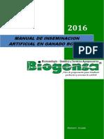 Compendium de Inseminaciön Artificial Bovinos