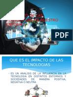 El Impacto de Las Tecnologias en Nuestro Entorno