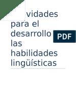 Actividades para el desarrollo de las habilidades lingüísticas.docx