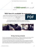 50-Day Training Schedule, The Best Csgo Tutorial Ever Made