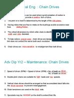 Chain Drives