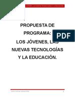 Propuesta de Programa
