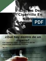 Efectos Del Cigarro en Nuestro Organismo