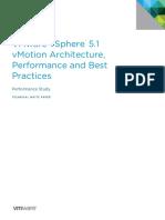 Vmware Vsphere51 Vmotion Performance White Paper