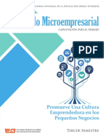 Desarrollo Microempresarial Promueve Una Cultura